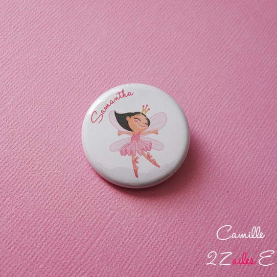 badge magnet 32 fée danseuse