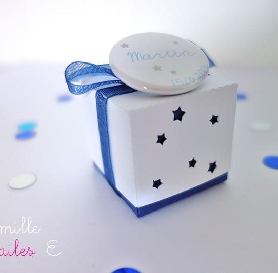 boite double étoile bleu nuit blanc 1