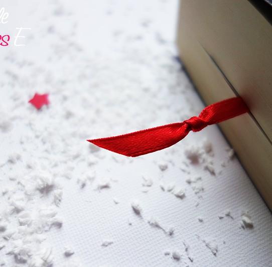 carte voeux 2015 marque-page étoilé rouge argent 4