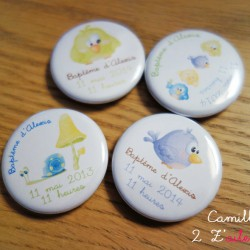 badge magnet 32 animaux rigolos