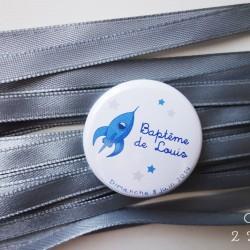 badge magnet 32 fusée