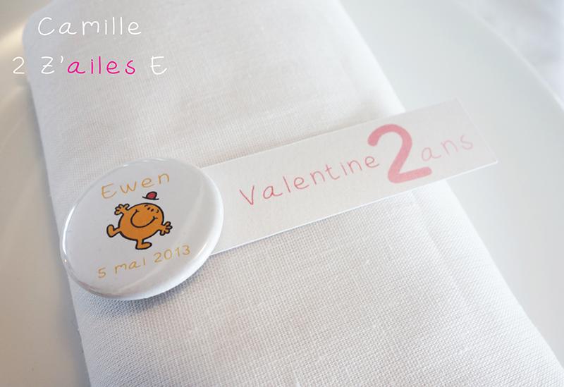 Badge magnet miroir monsieur madame camille 2 z 39 ailes for Monsieur du miroir