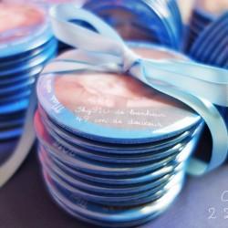 faire-part magnet 75 photo bébé bleu