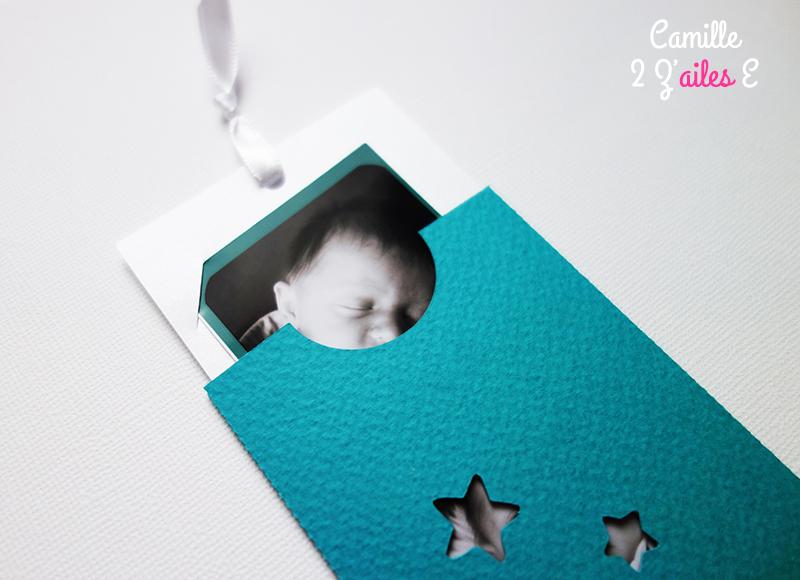 Bien-aimé Faire-part pochette Photomaton | Camille 2 z\'ailes E| Créations  LG99