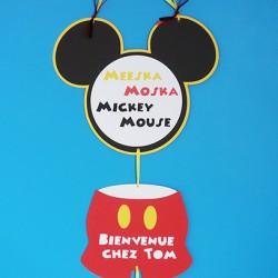 deco mural anniversaire mickey