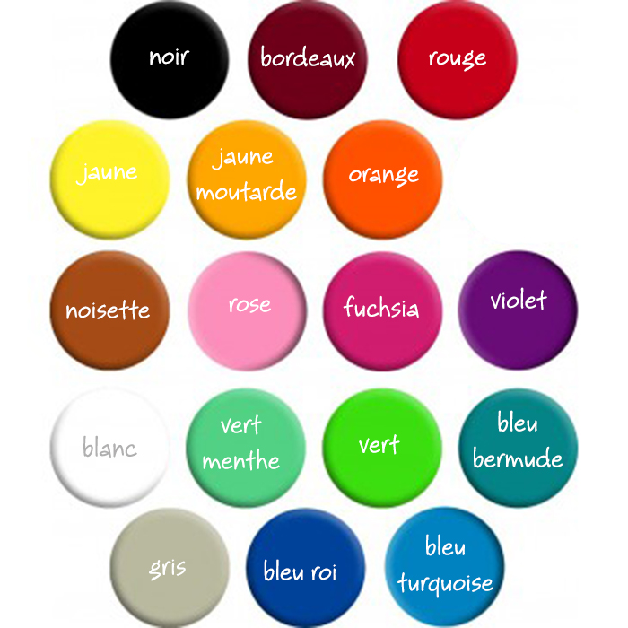 couleurs stickers