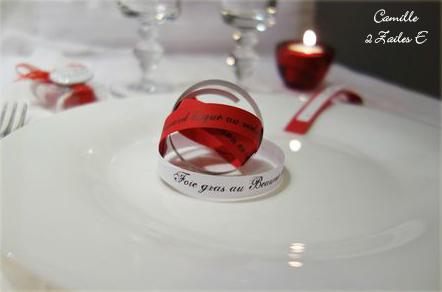 menu infini rouge argent blanc irisé 2