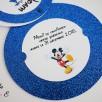 invitation chateau disney pailleté bleu nuit 5