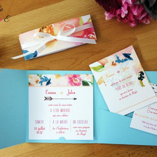 faire-part-pochette-cartons-fleuri-bleu-clair-5
