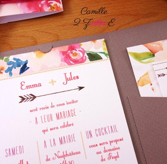faire-part-pochette-cartons-fleuri-taupe-3