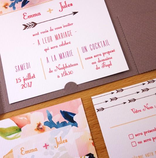 faire-part-pochette-cartons-fleuri-taupe-6