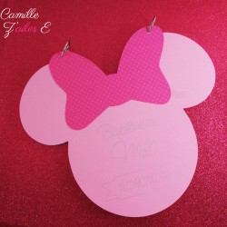 livre d'or minnie rose fuchsia 1