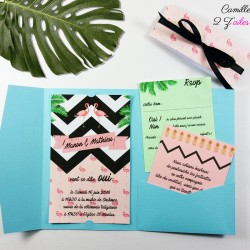 faire-part-tropical-flamant-rose-ananas-flamingo-bleu-noir-2bis