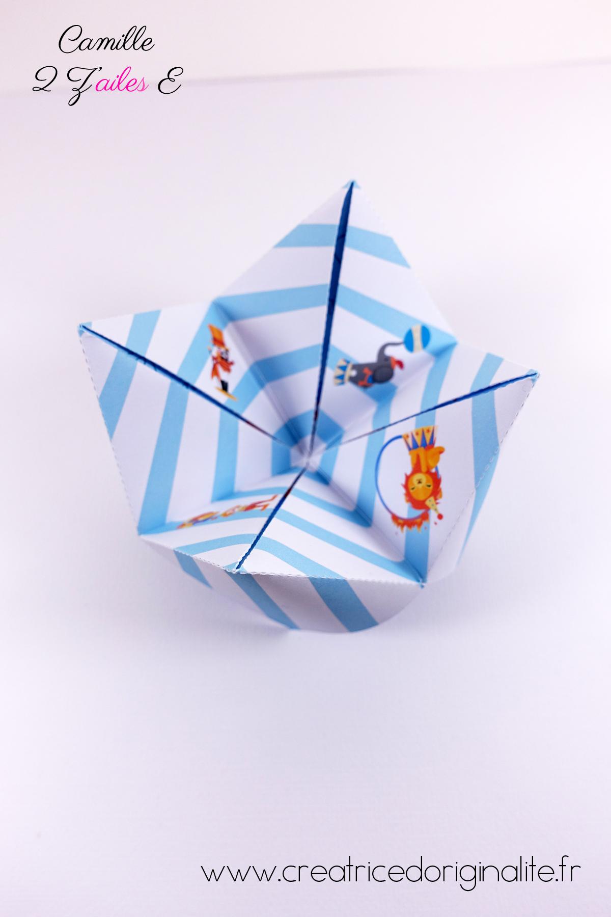 Gut bekannt Faire-part de naissance Cocotte – thème cirque | Camille 2 z  AH33