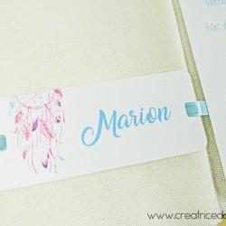 marque-place serviette