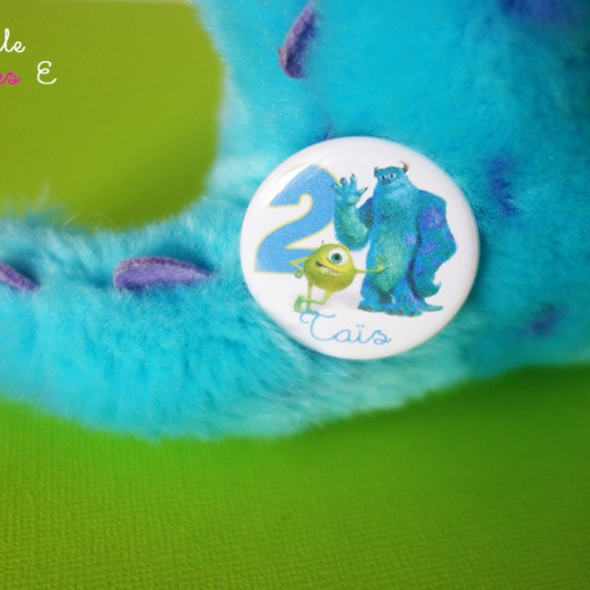 badge monstre compagnie