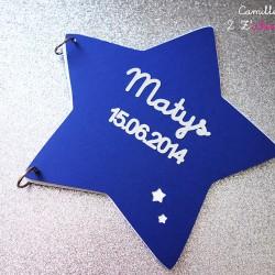 livre or étoile bleu nuit 1