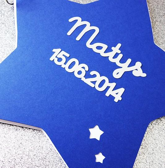 livre or étoile bleu nuit 2
