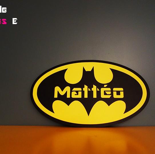 pancarte batman