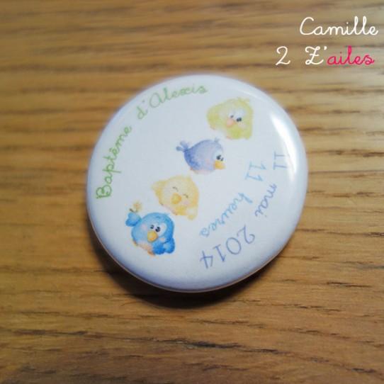 badge magnet 32 oiseaux rigolos