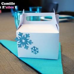 boite bonbon reine neiges flocon