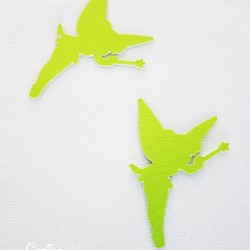 confettis fée clochette vert anis