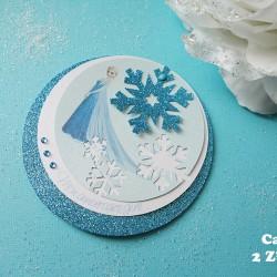 invitation ronde reine neige