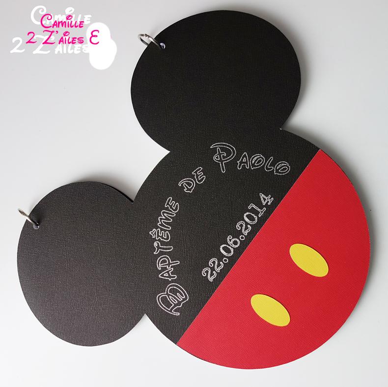 Haut Camille 2 z'ailes E | Livre d'or Mickey BD54