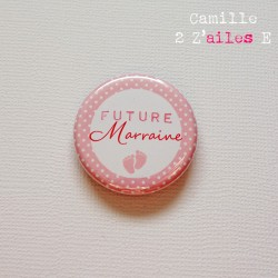 badge annonce marraine 1