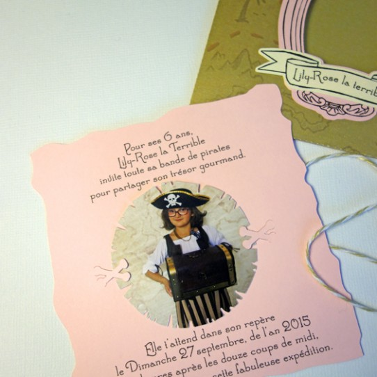 faire-part pochette pirate cadre photo  ficelle 2