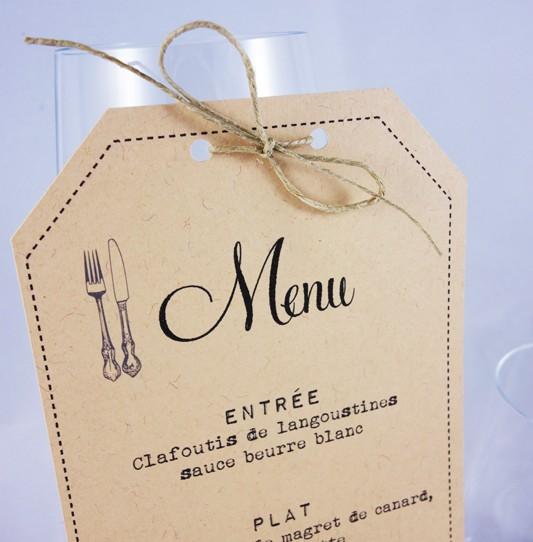 menu vintage kraft 2