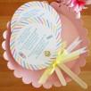 faire-part gourmandise sucette pastel 4