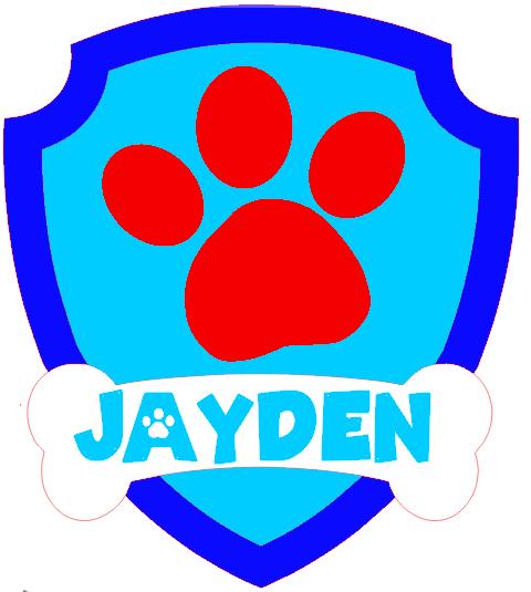 affiche logo patte