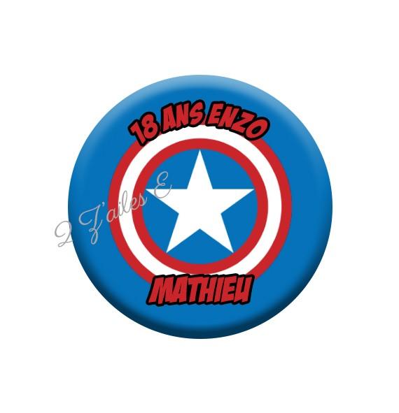 B32 captain america