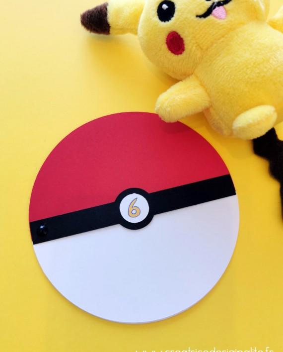invitation pokemon pikatchu 1
