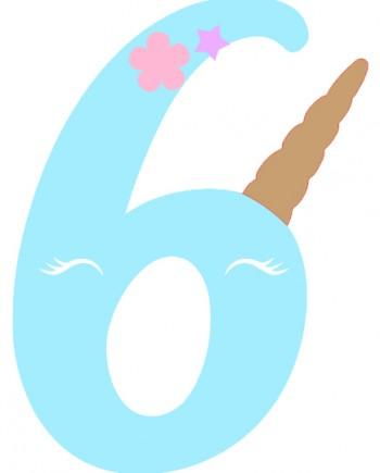 6 licorne