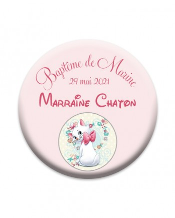 badge chat marie