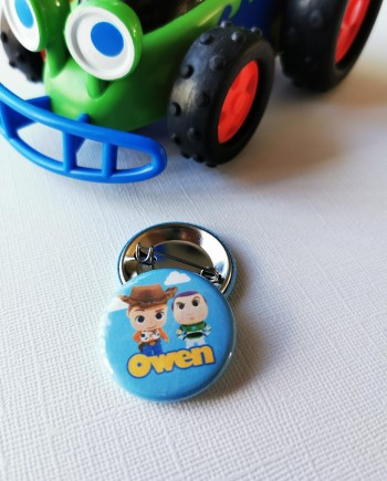 badge toys story