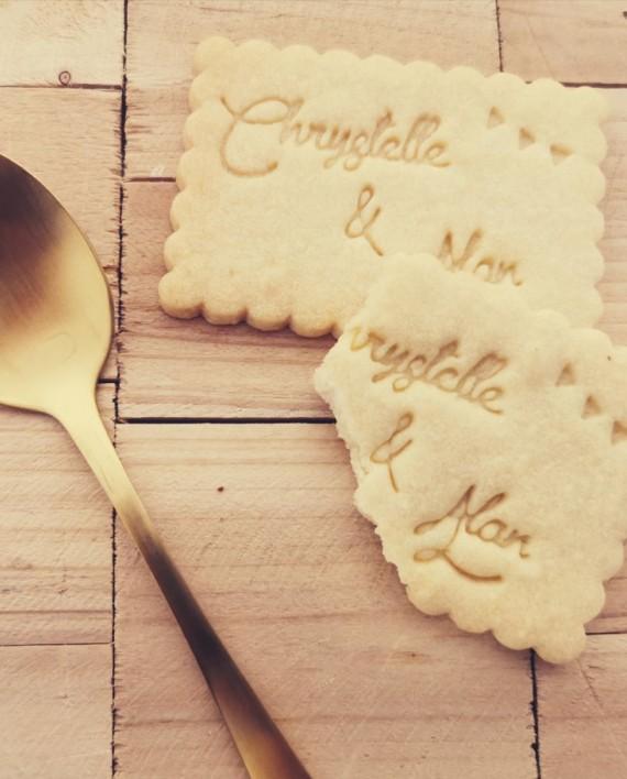 biscuits personnalisés emporte piece vintage nature