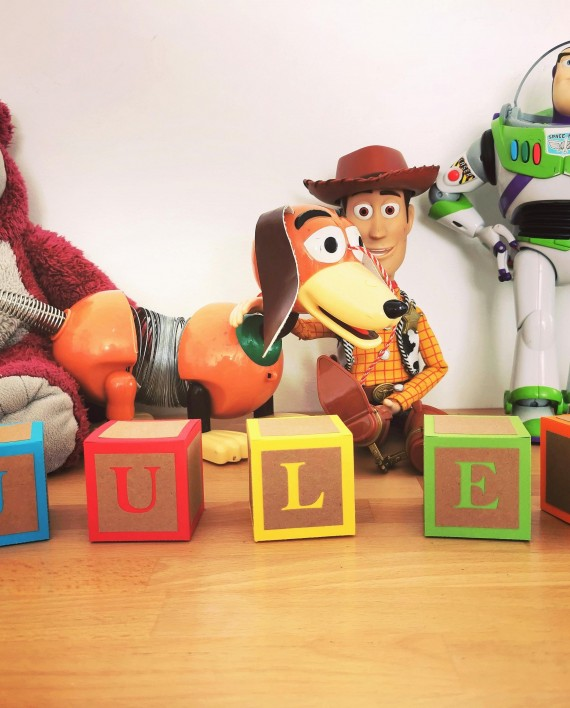 cube jouet prenom toy story 2