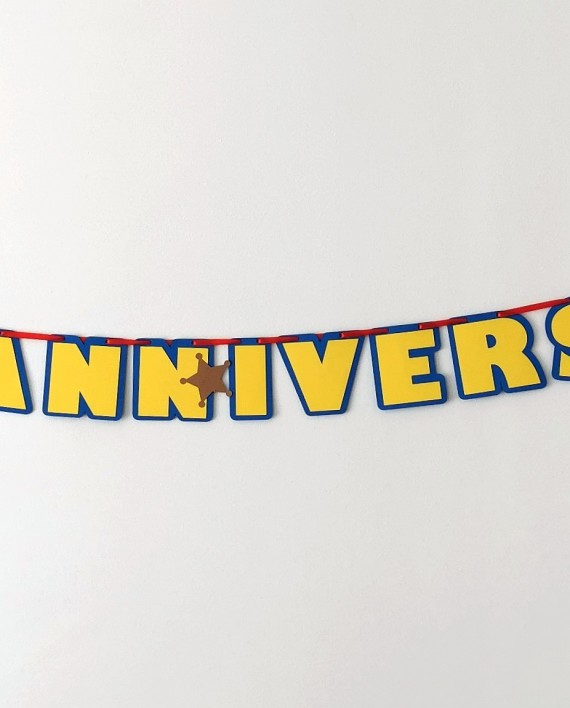 guirlande anniversaire toy story