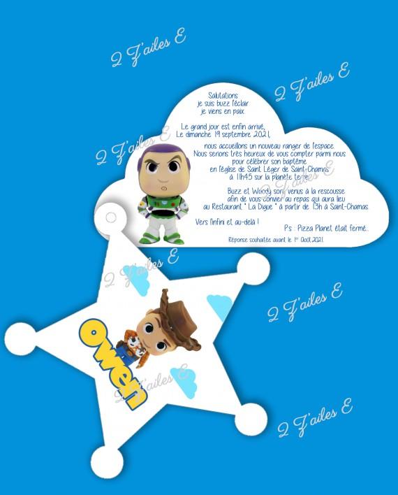invit toys story 2